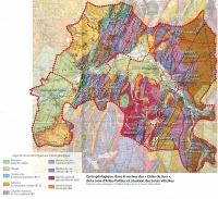 Carte Géologique Arlay Chateau-Chalon