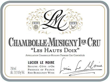 Chambolle Musigny 1er Cru Les Hauts Doix Image